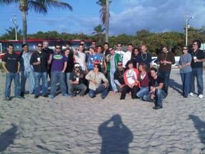 Miami Bus Group Shot